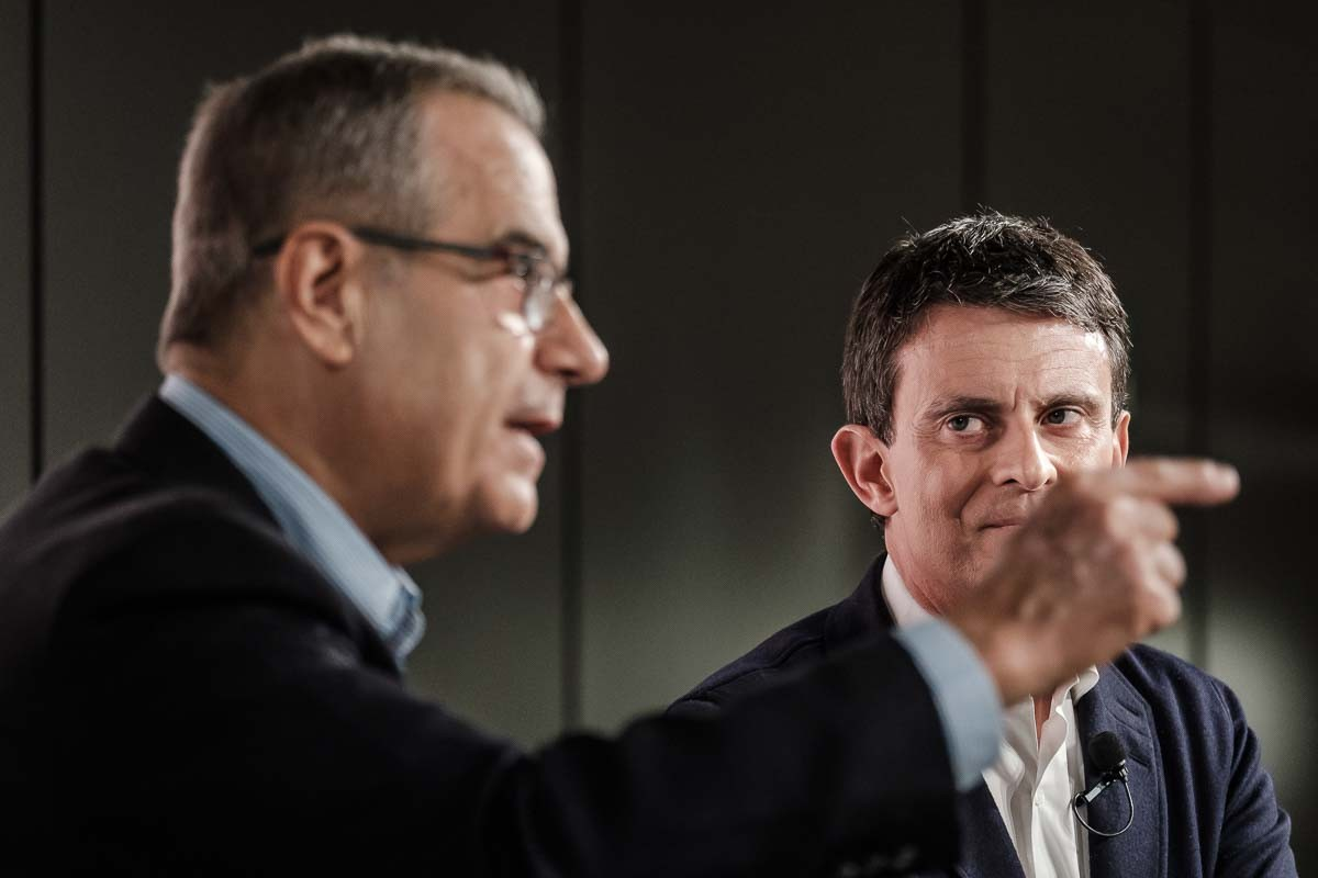 Valls, en la presentació de Corbacho com a número 3 de la seva llista.
