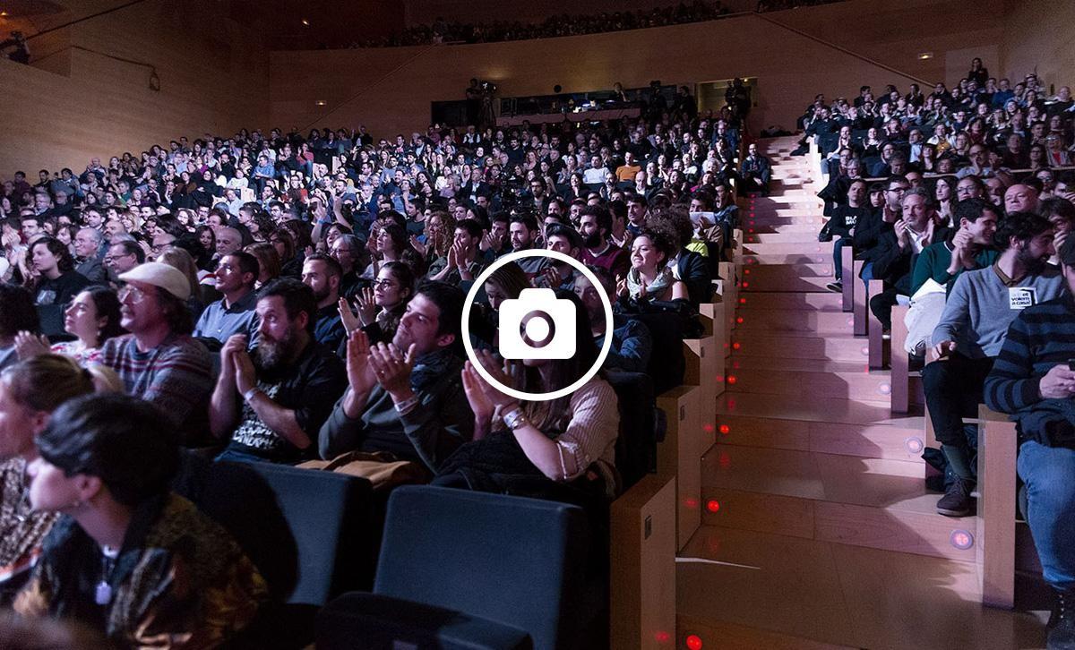 L'Auditori de Girona durant els Premis Enderrock 2019
