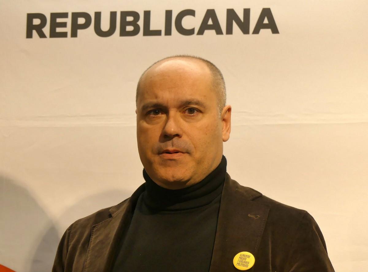 Jordi Salvador, diputat d'ERC al Congrés per Tarragona