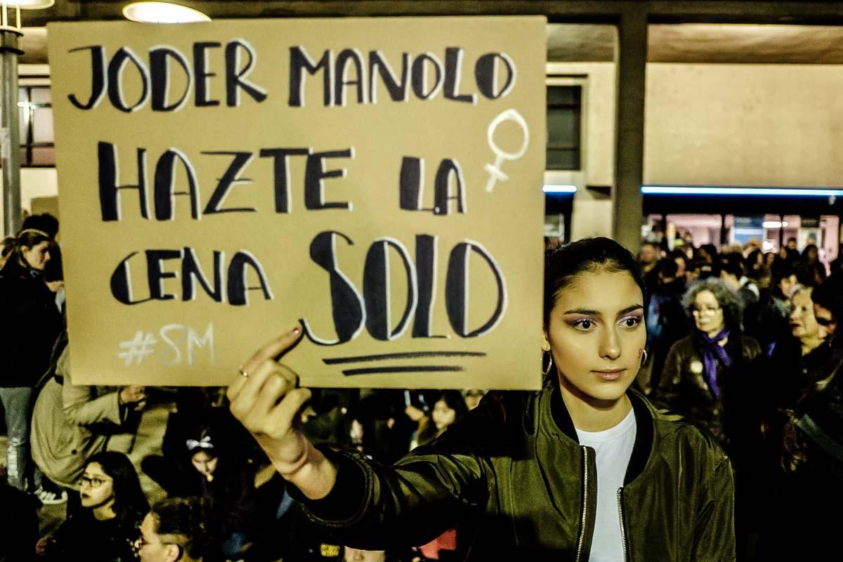 Manifestació del 8 de març.