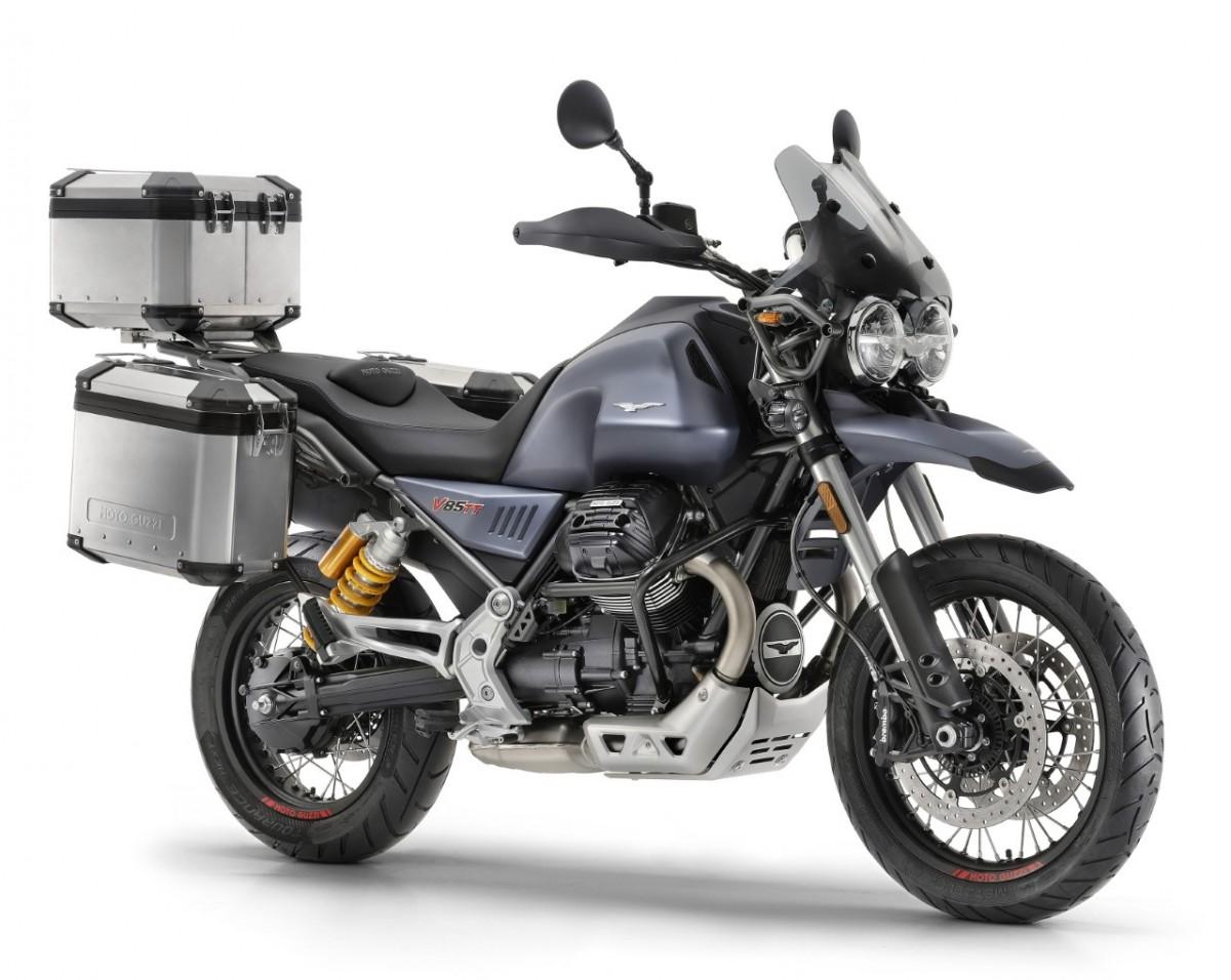 La nova Moto Guzzi V85 TT està preparada per qualsevol aventura