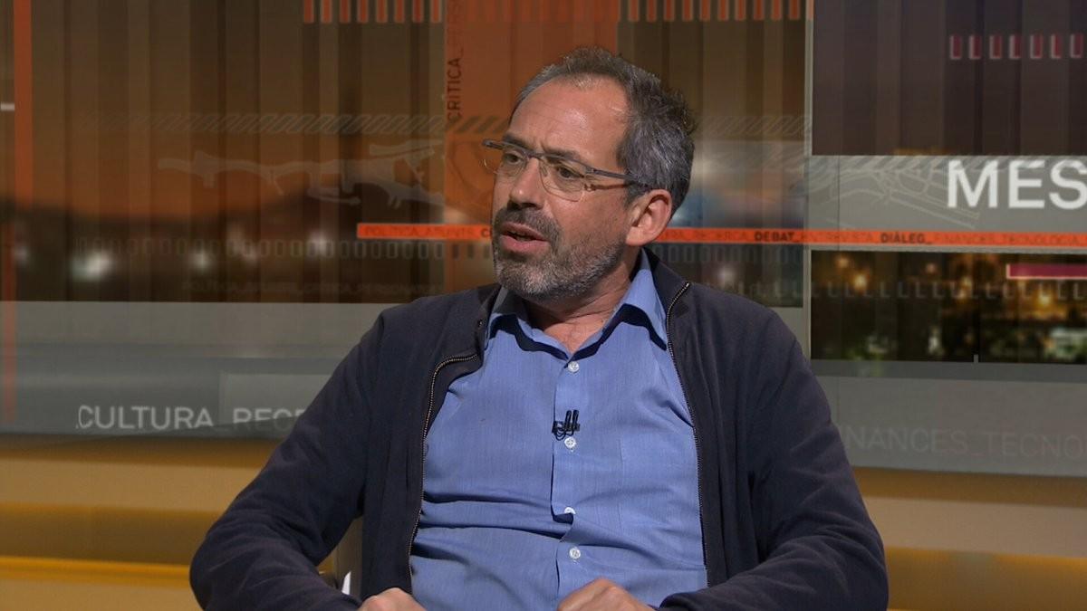Joaquín Urías, en una entrevista televisiva