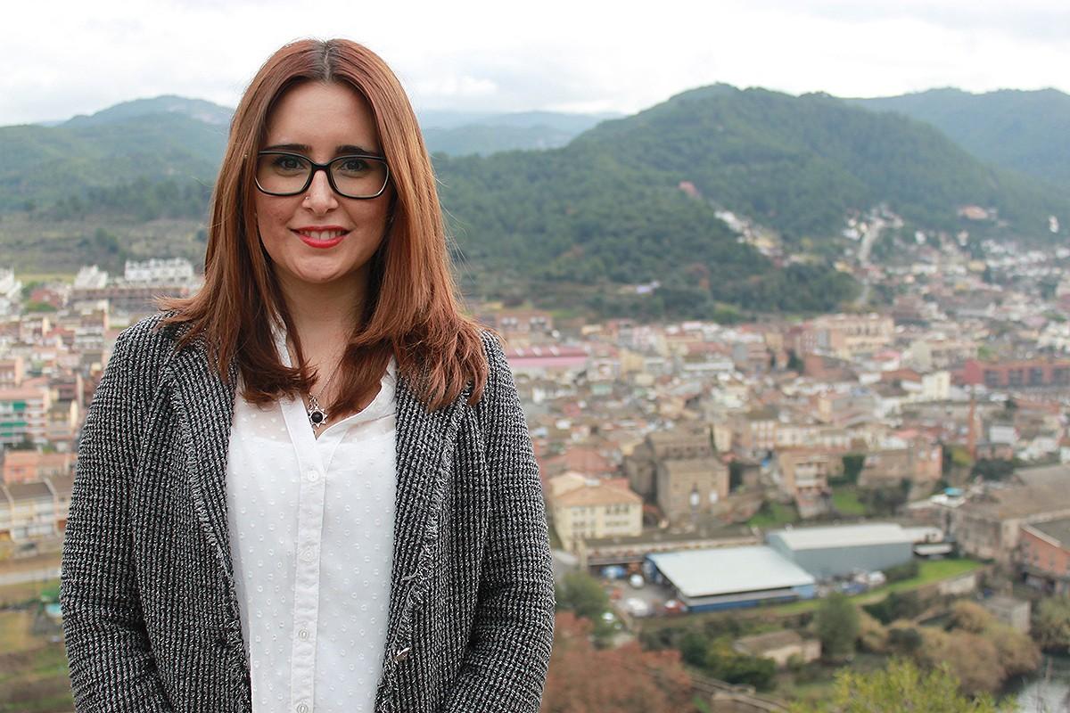 Estefania Torrente, junt amb Eloi Hernàndez, compartiran el lideratge d'ERC al Consell Comarcal