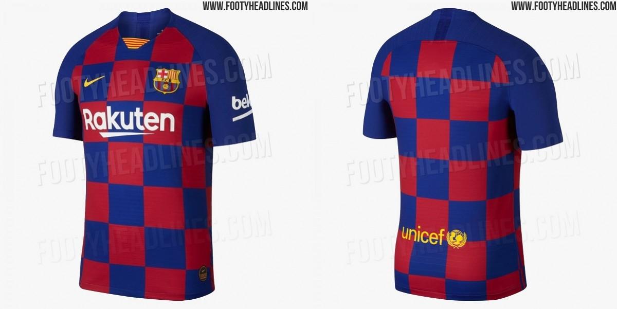La nova equipació del FCBarcelona