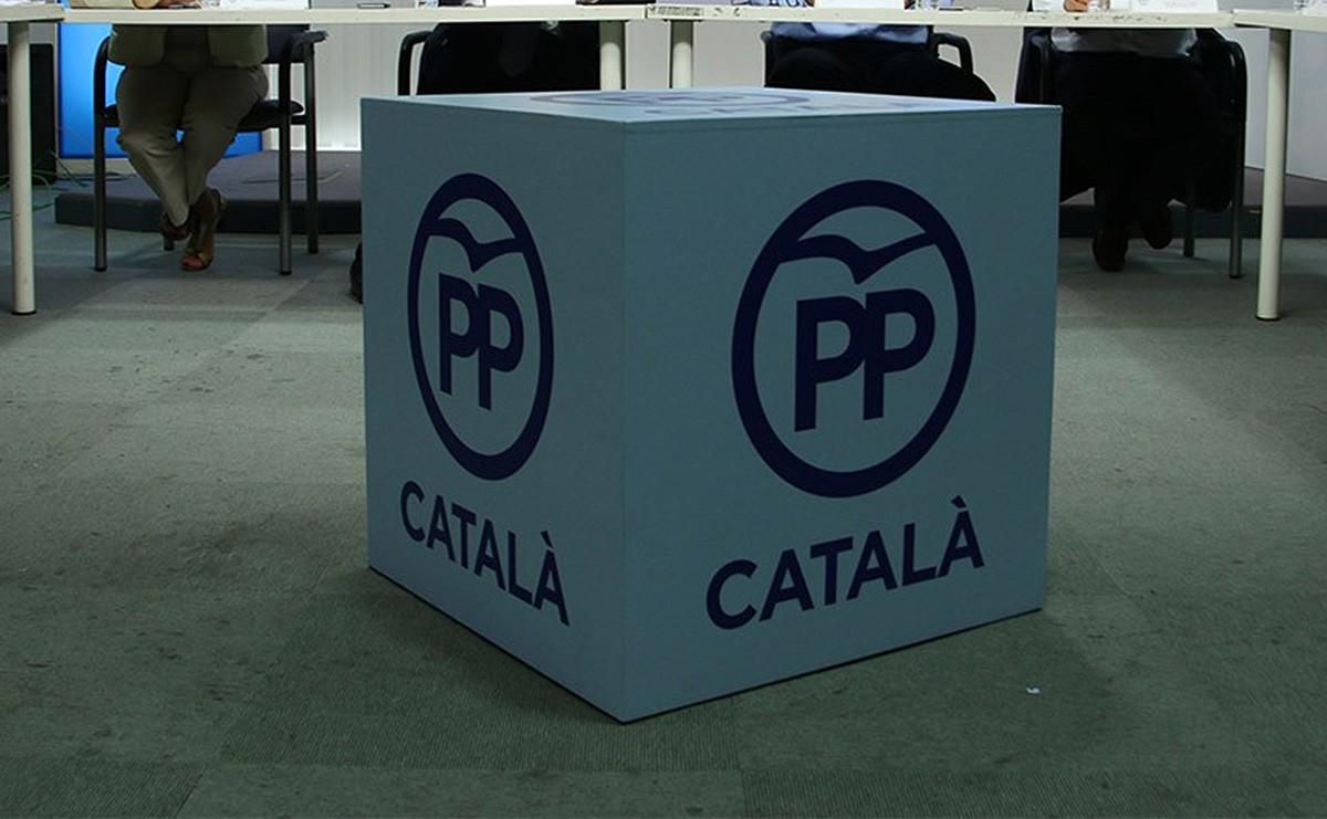 El logo del PP.