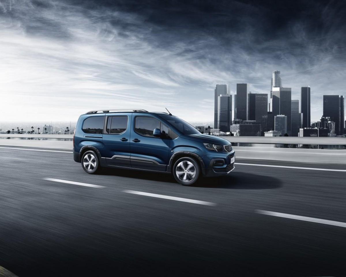 La nova Rifter Long és un vehicle molt polivalent amb capacitat per set ocupants