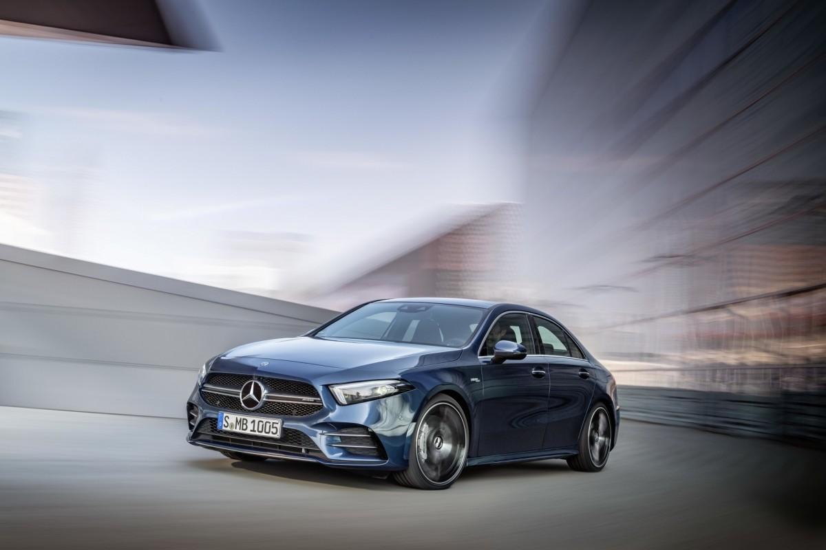 Potència i esportivitat de la mà del nou sedan Mercedes-AMG