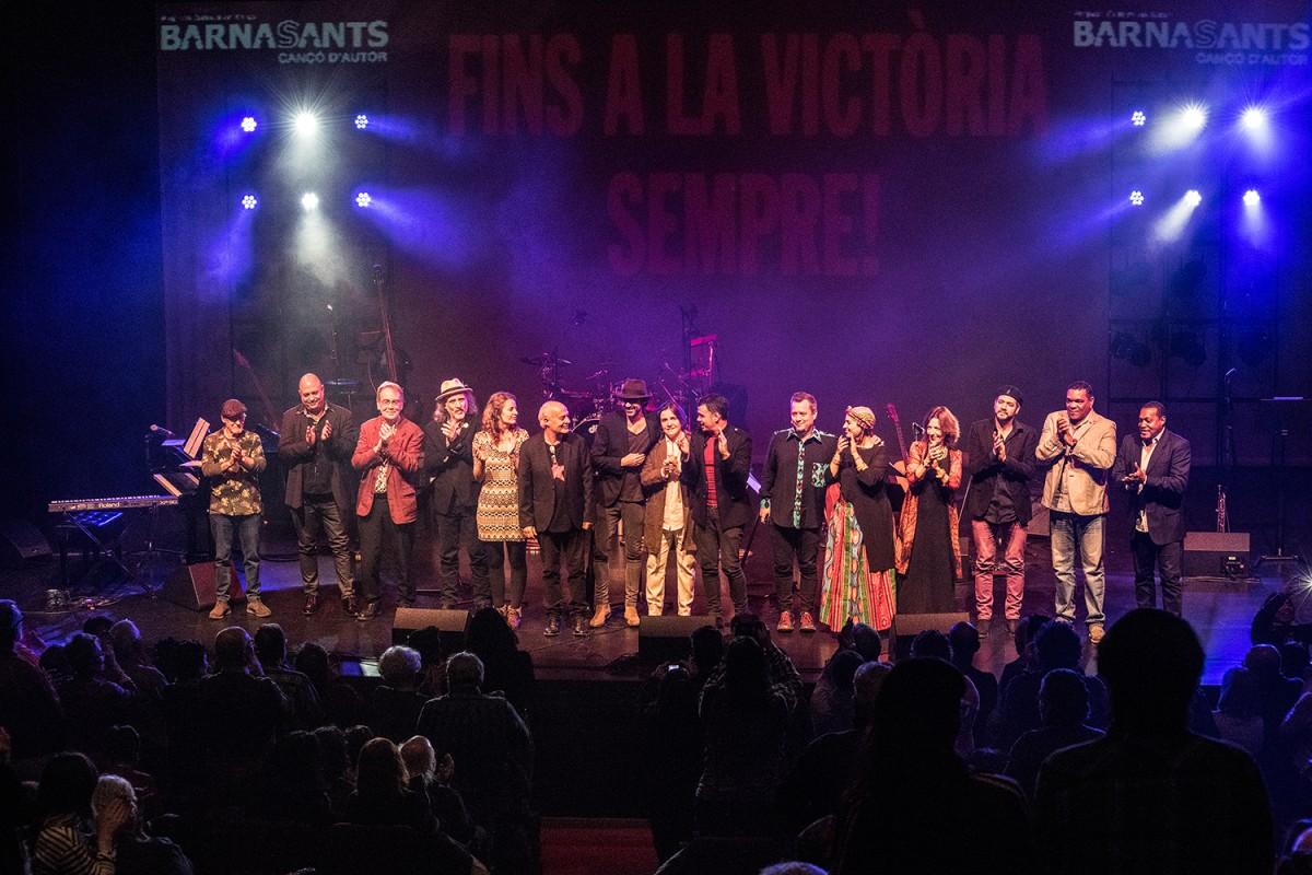 Participants al concert col·lectiu