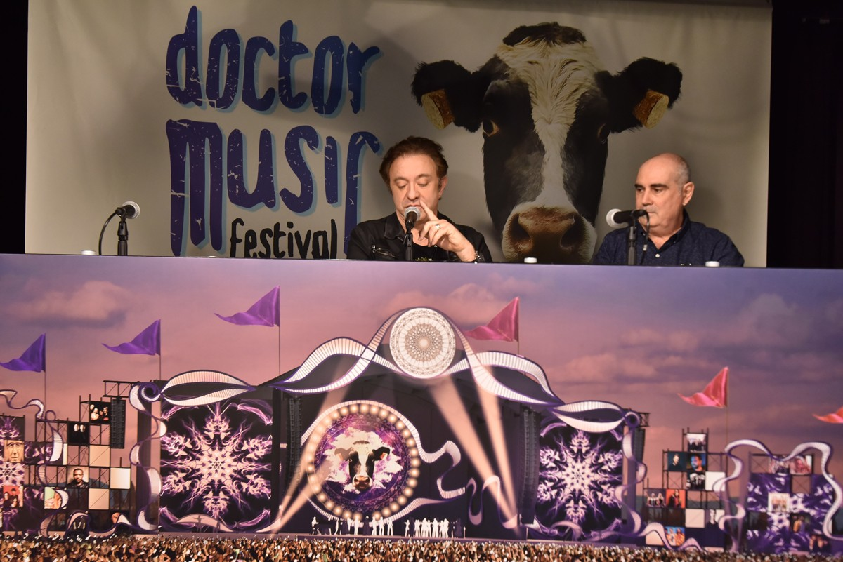 Roda de premsa del Doctor Music Festival