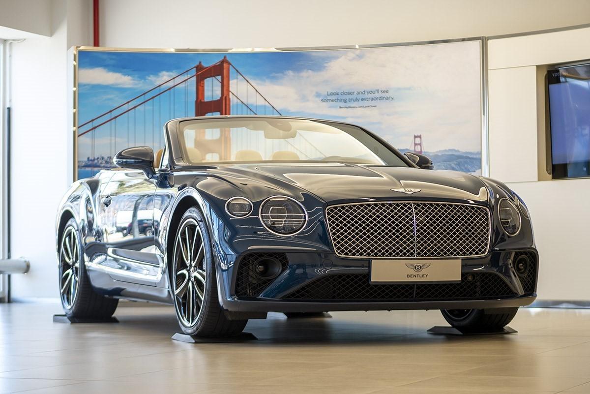 El nou Bentley Continental GT Convertible, luxe i refinament a cel obert