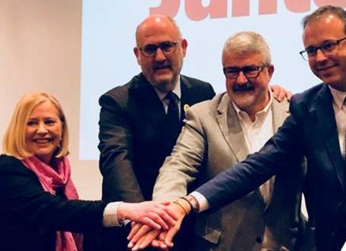 Josep Maria Roigé, amb Giné, Pujol i Solsona