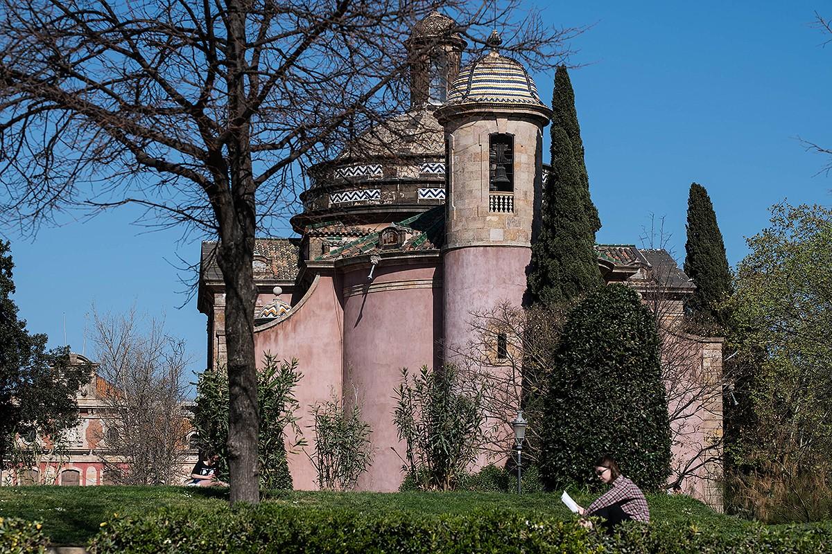 Capella Castrense del parc de la Ciutadella