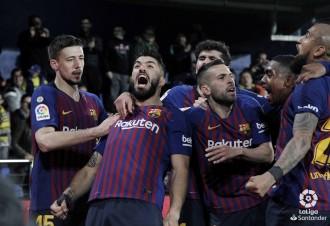 El Barça salva un punt «in extremis» a Vila-real (4-4)