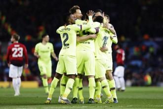 El Barça conquereix Old Trafford i fa el primer pas per eliminar el United (0-1)
