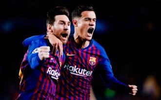 El Barça passa per damunt del United i ja és a semifinals