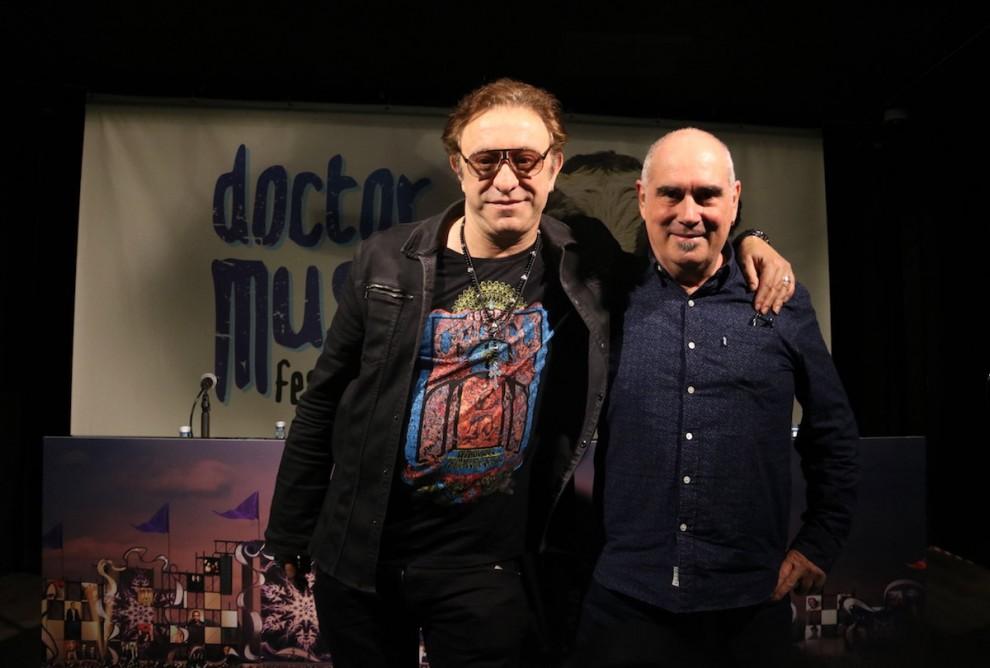El director del Doctor Music, Neo Sala, i el seu coordinador d'operacions, Jordi Mora