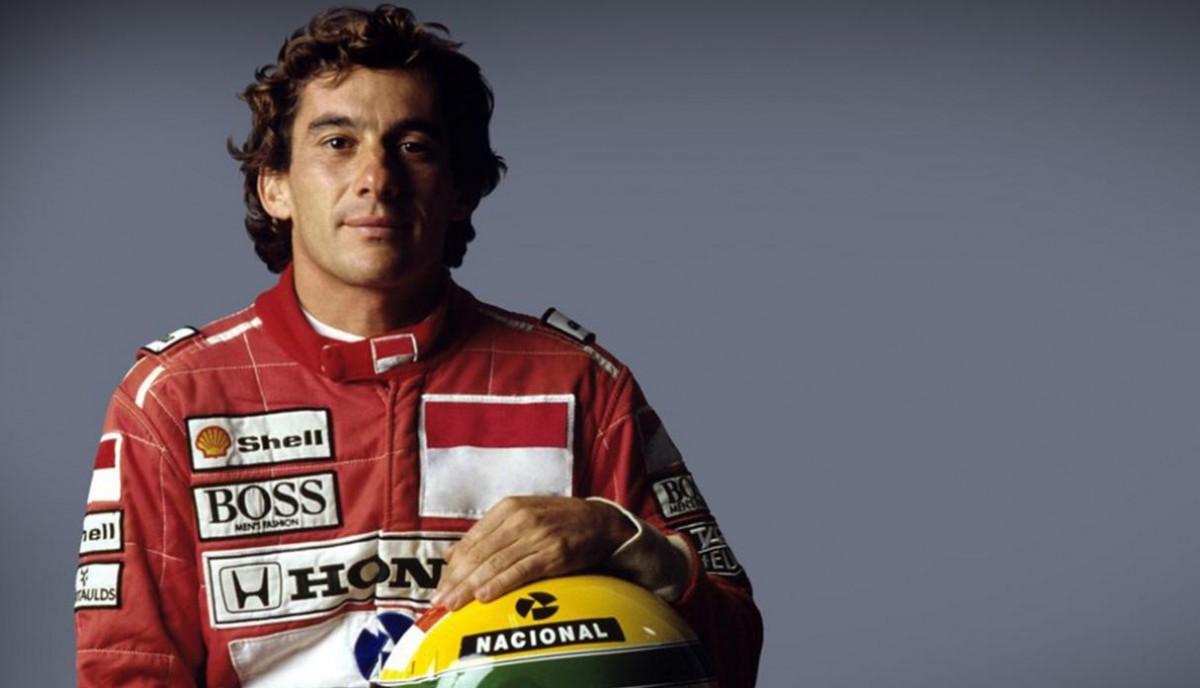 Ayrton Senna un dels grans mites de la F1