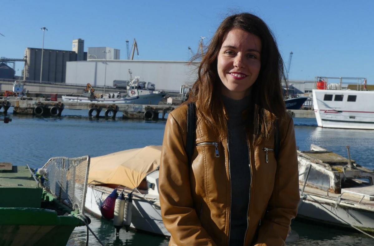 Laia EsCarla Aguilar, cap de llista d'En Comú Podem Tarragona.