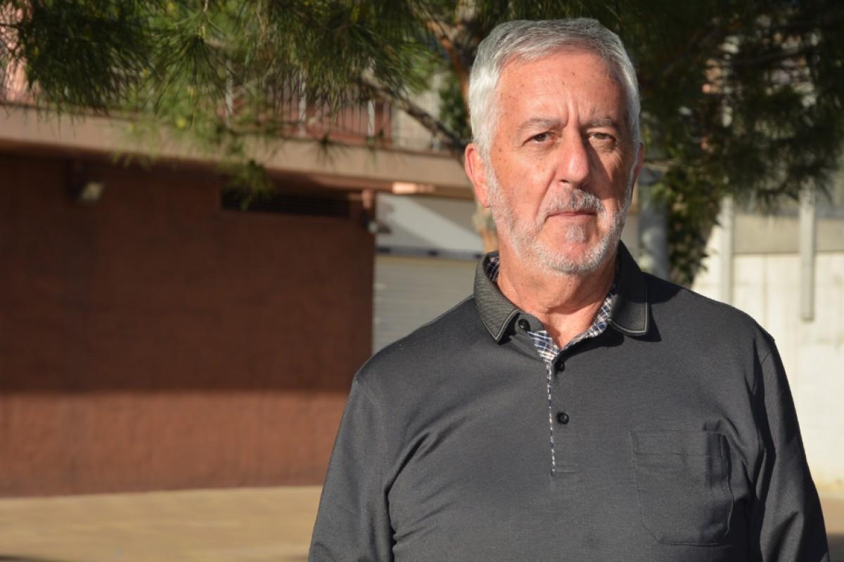 El cap de llista de Ciutadans de Berga, Juan José Olaya.
