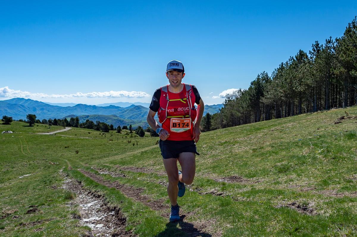 Diego Arroyo, campió de la Molló Trail 2019