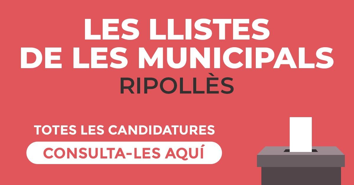 Candidatures al Ripollès