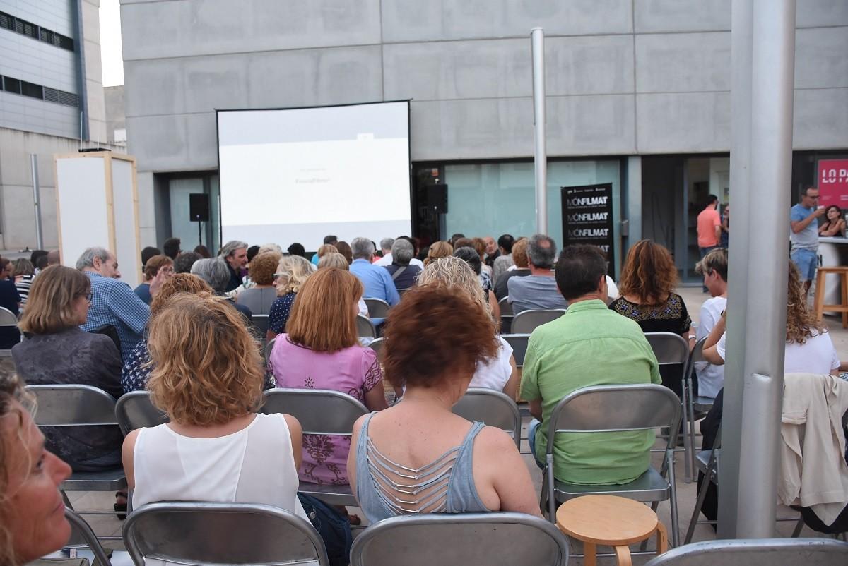 Anterior edició de monFilmat a Lo Pati d'Amposta.