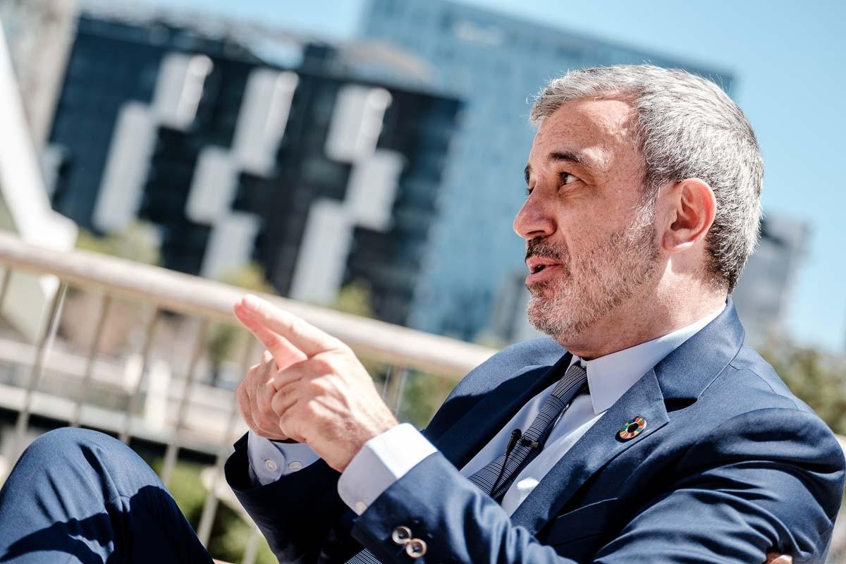 Jaume Collboni, en una entrevista recent