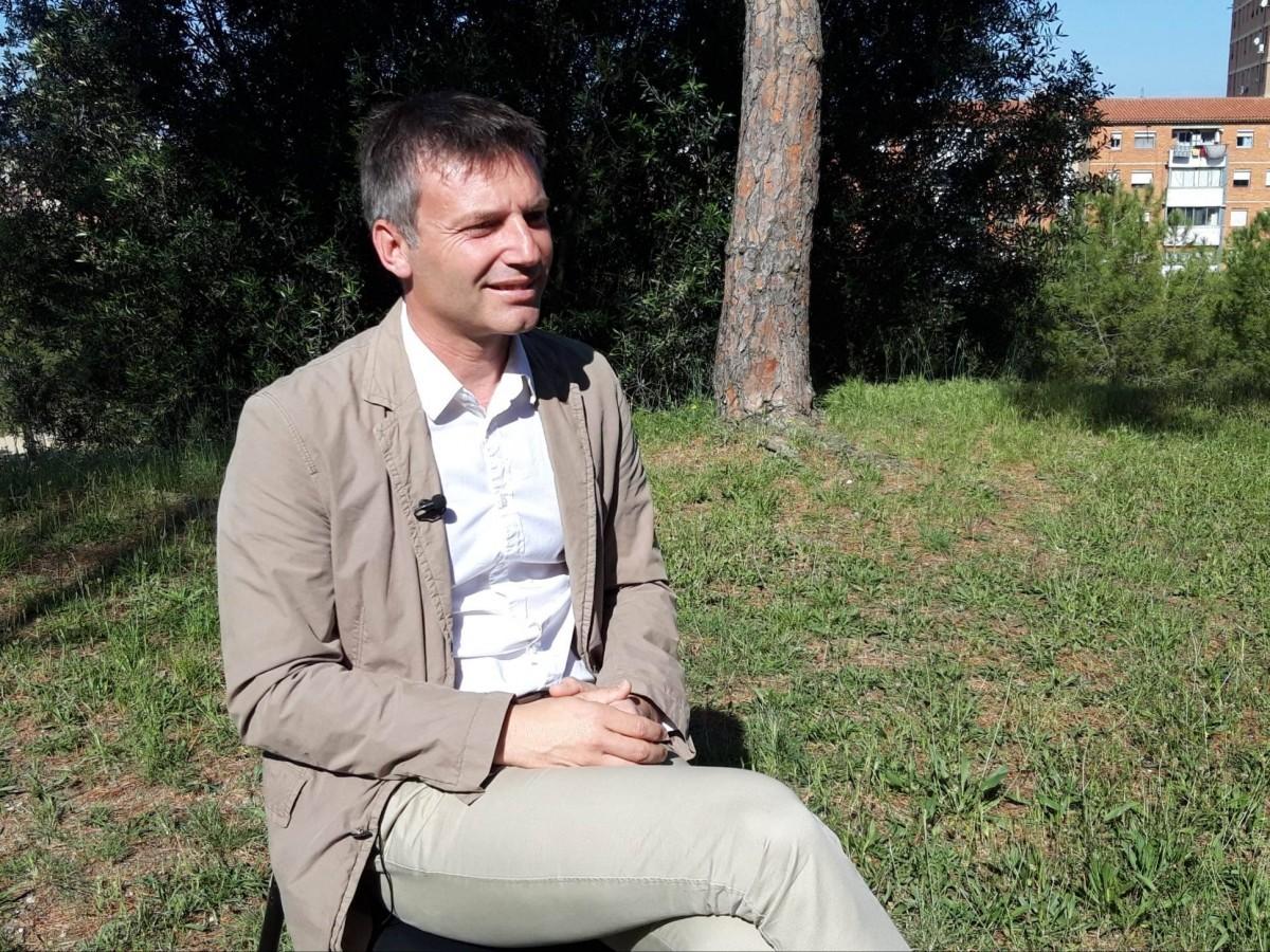 Xavier Corbera, candidat a l'alcaldia d'ERC a Rubí.