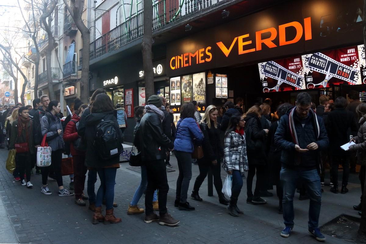 El cine Verdi a Gràcia