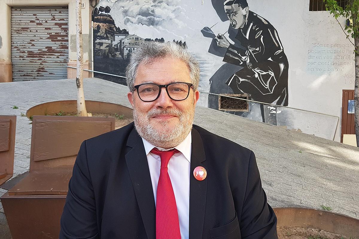 Felip González, cap de llista del PSC a les eleccions de Manresa