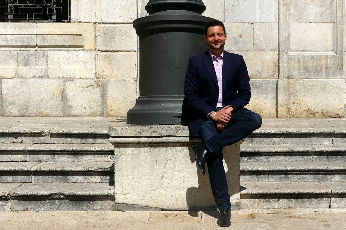 Rubén Viñuales, cap de llista de Cs a Tarragona per al 26-M.