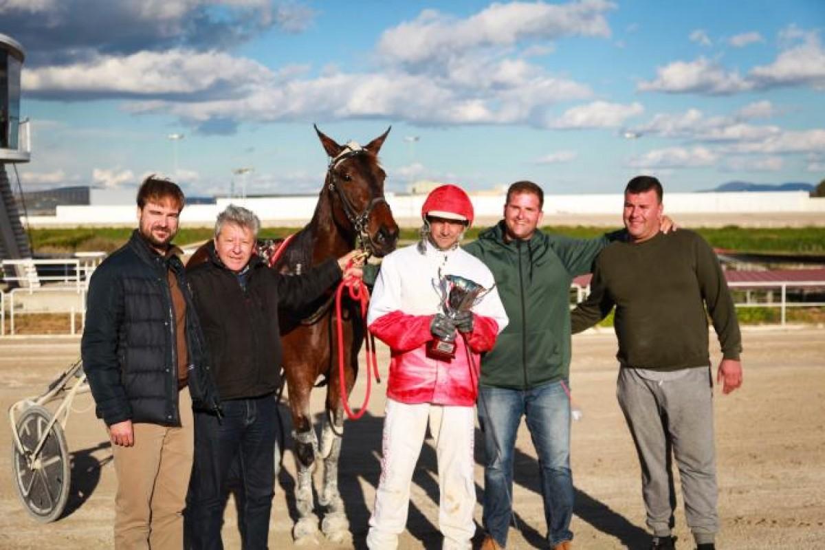 El millor cavall de trot de la temporada es diu Gin Tonic Duran