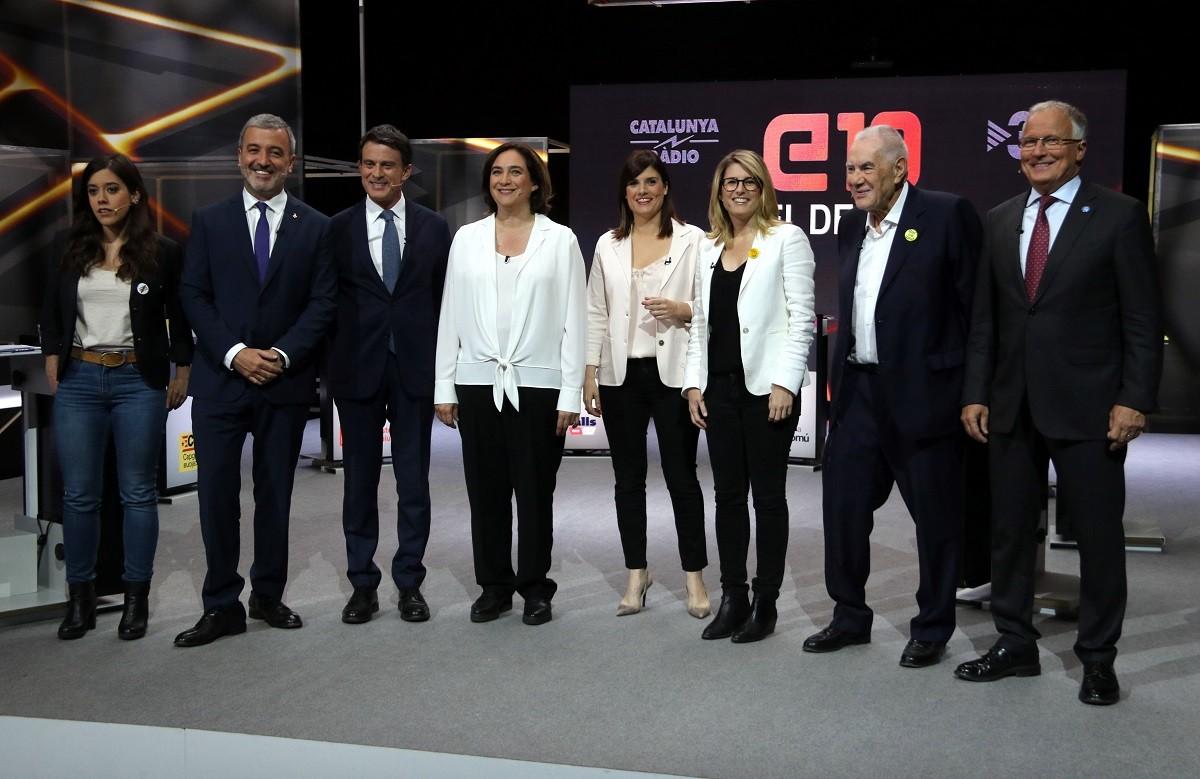 Debat dels candidats a Barcelona a TV3