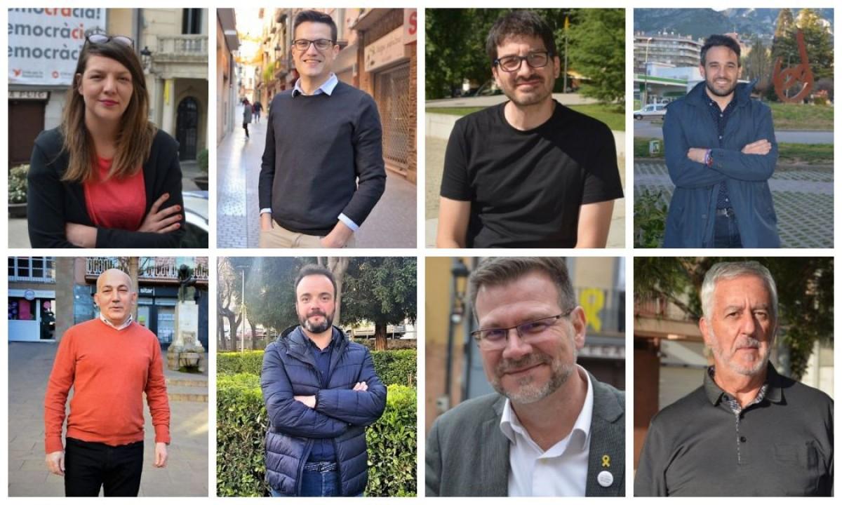 Candidats a l'alcaldia de Berga.