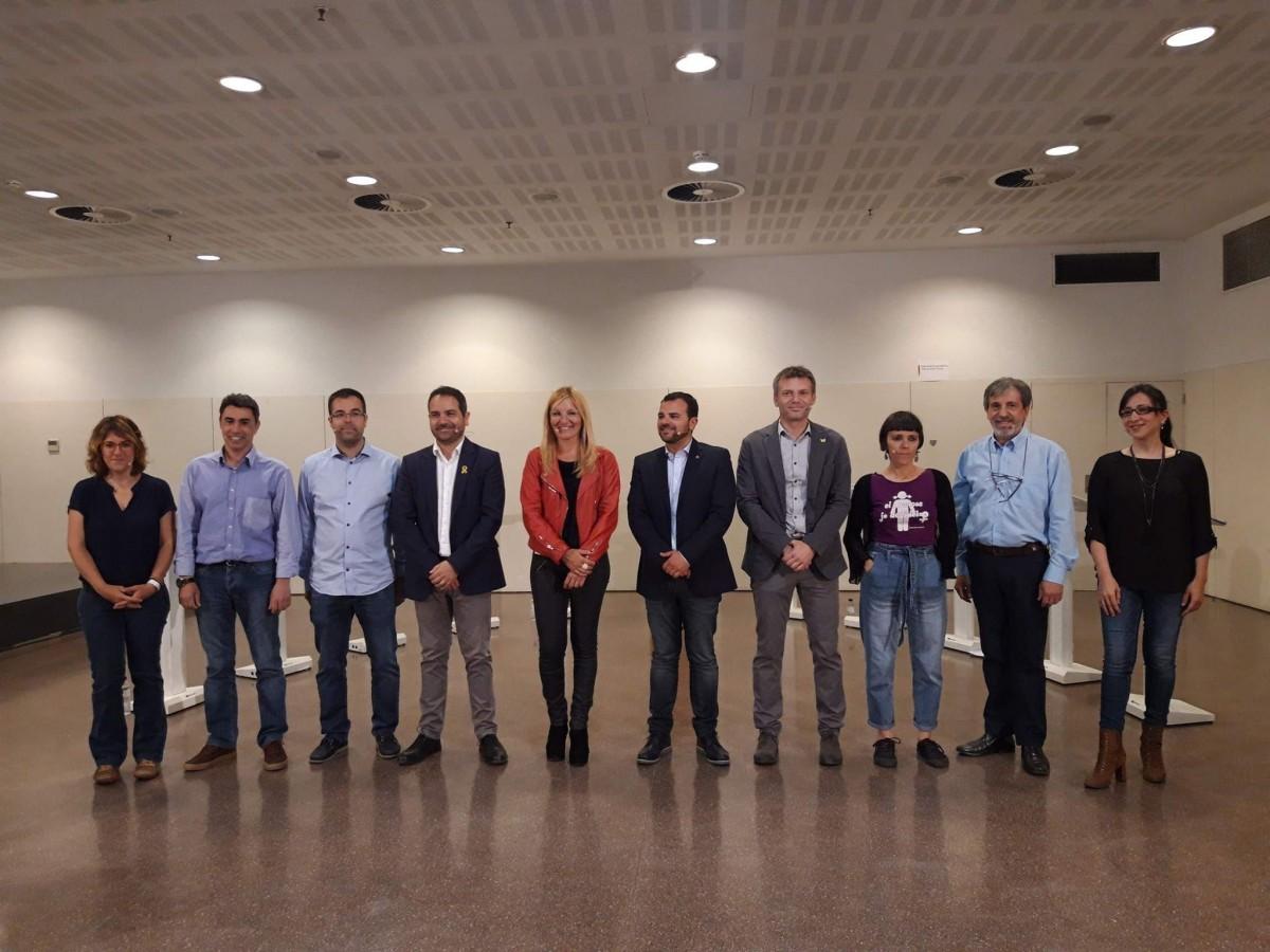 Els candidats i candidates a l'alcaldia de Rubí