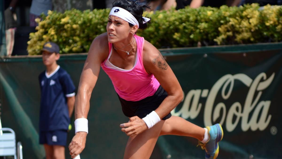 Aliona Bolsova debuta aquest any a les preliminars de Roland Garros
