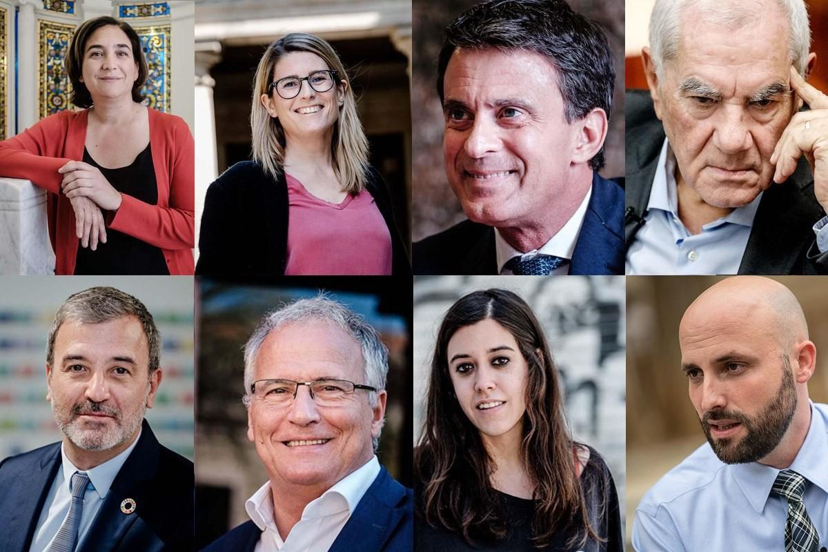 Els candidats a l'alcaldia de Barcelona