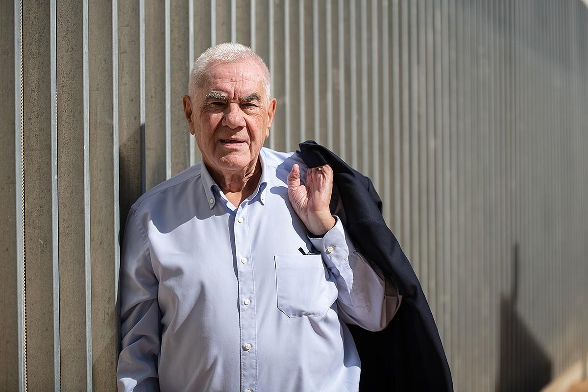 Ernest Maragall, durant l'entrevista a Nació Digital