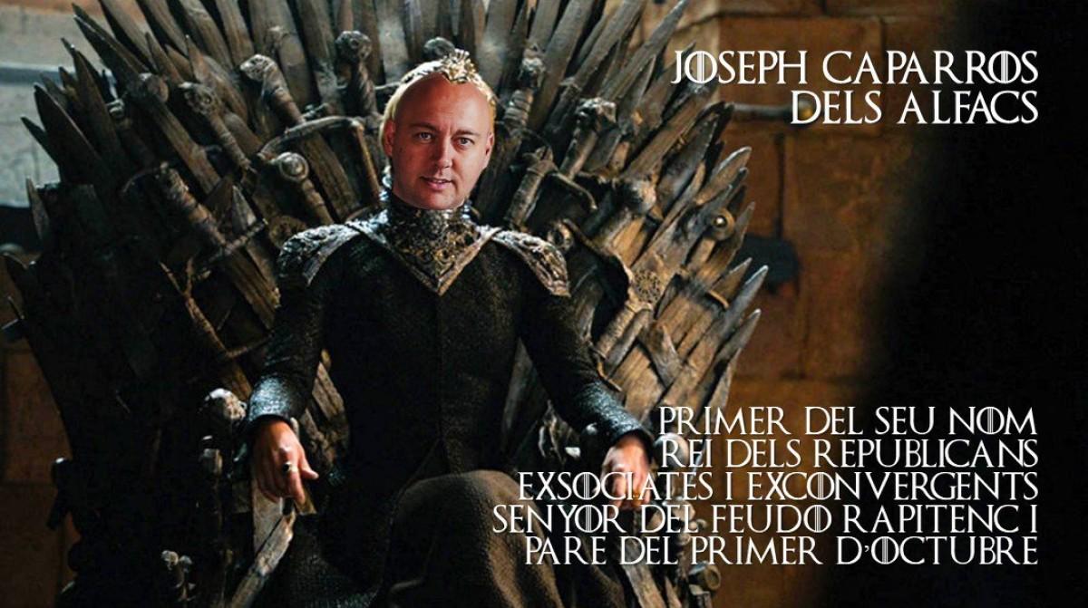 El cap de llista d'ERC encarna Joseph Caparrós dels Alfacs