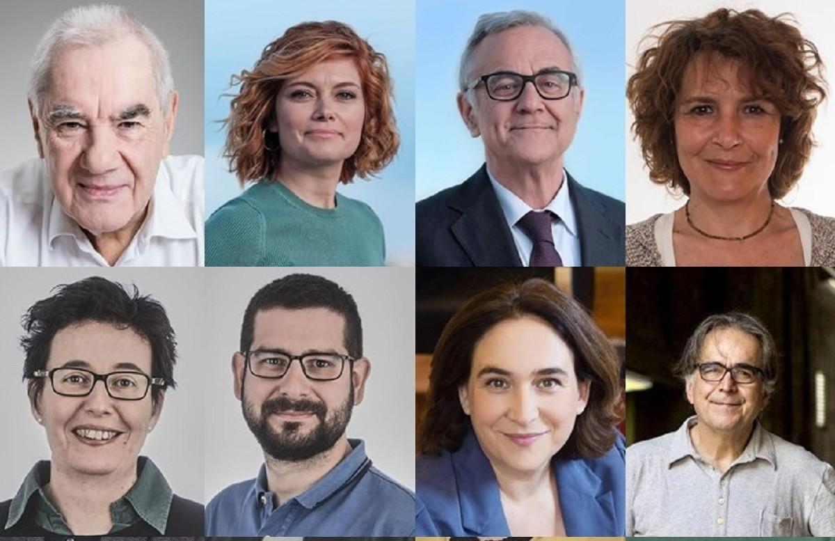 Alguns dels regidors escollits a Barcelona