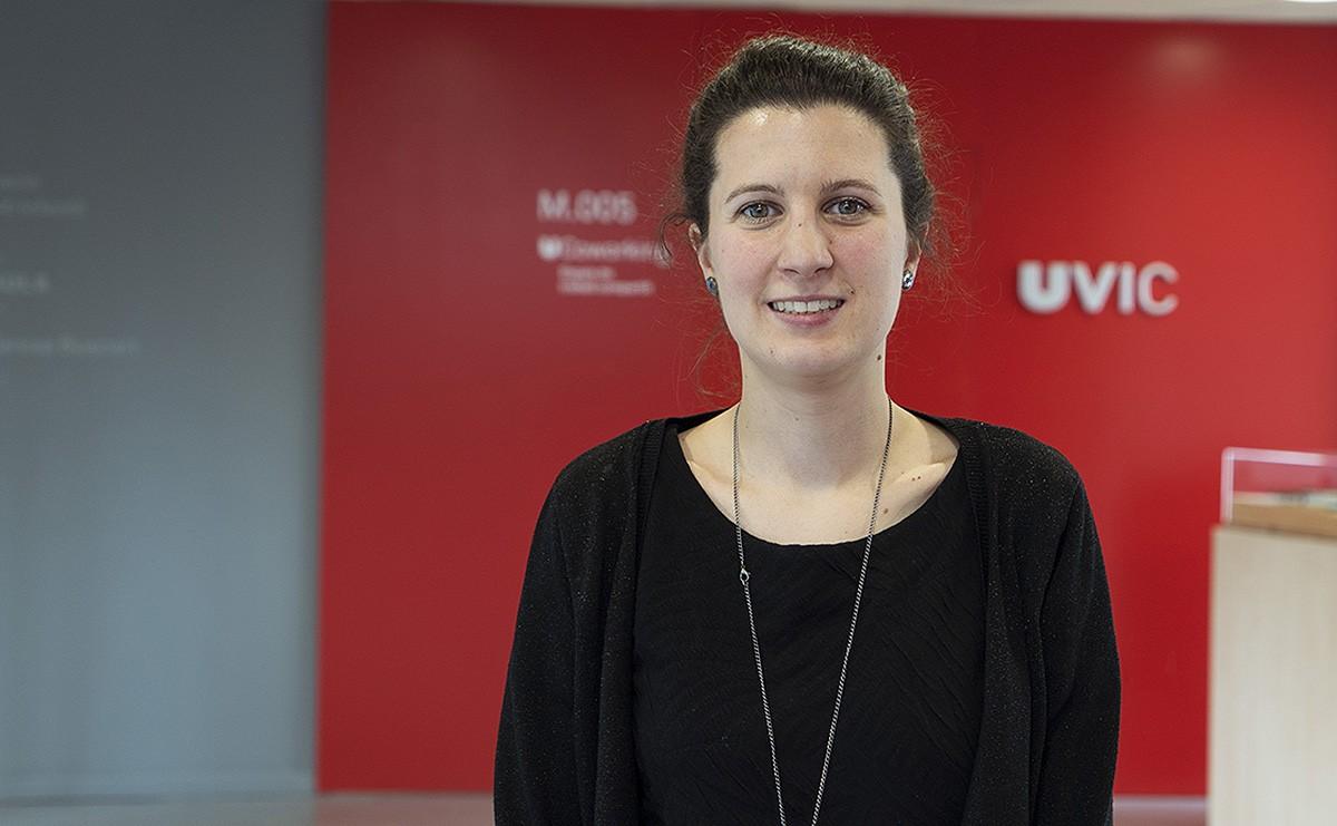 Sandra Petrus, exalumne de la UVic