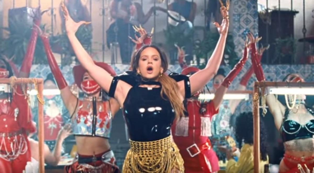 Rosalía al videoclip