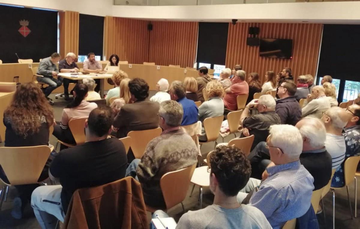 Un aspecte de l'assemblea de BECP celebrada aquest dimecres.