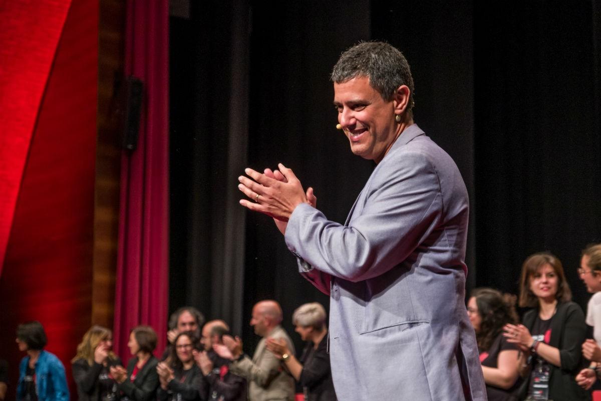 Agustí López, responsable de l'equip organitzador del TEDx Tarragona.