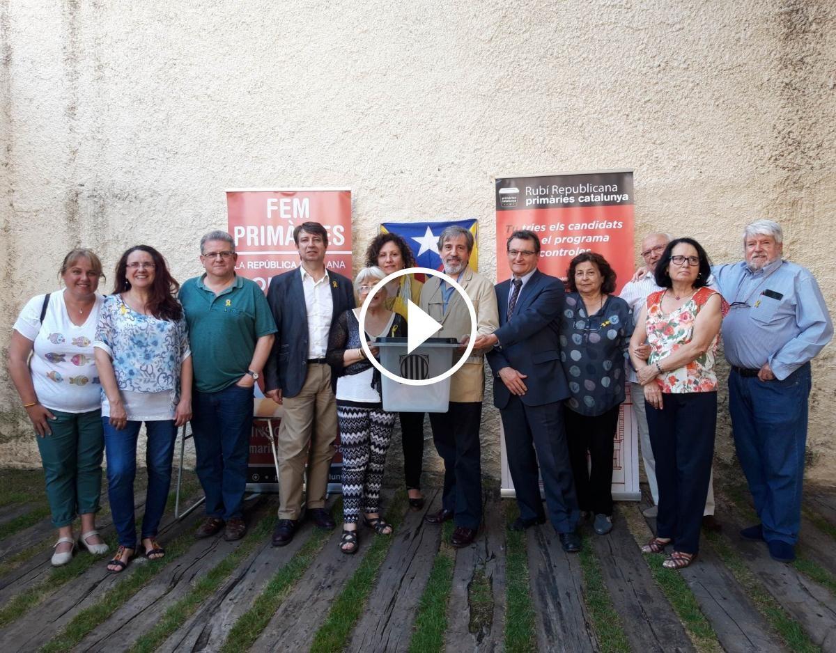 Membres de Rubí Republicana - Primàries Catalunya