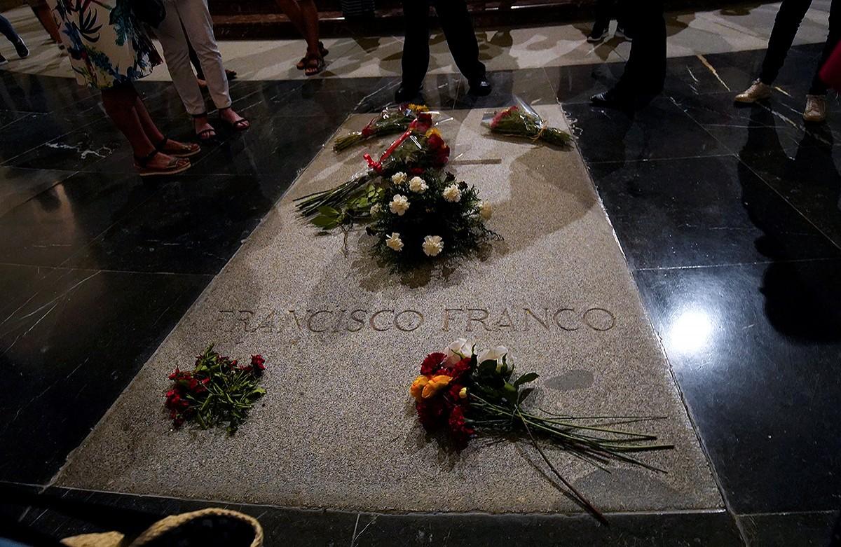 La tomba de Franco, al Valle de los Caídos