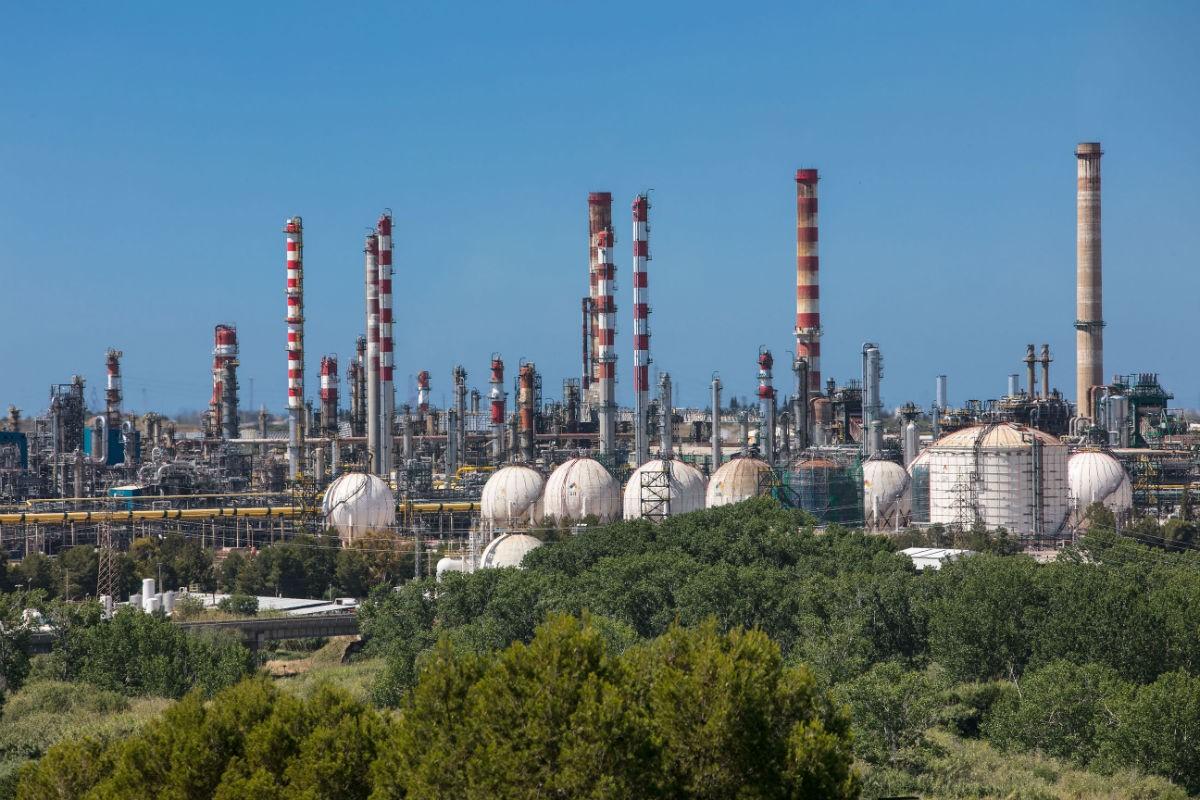 Complex de Repsol al Polígon Sud de Tarragona
