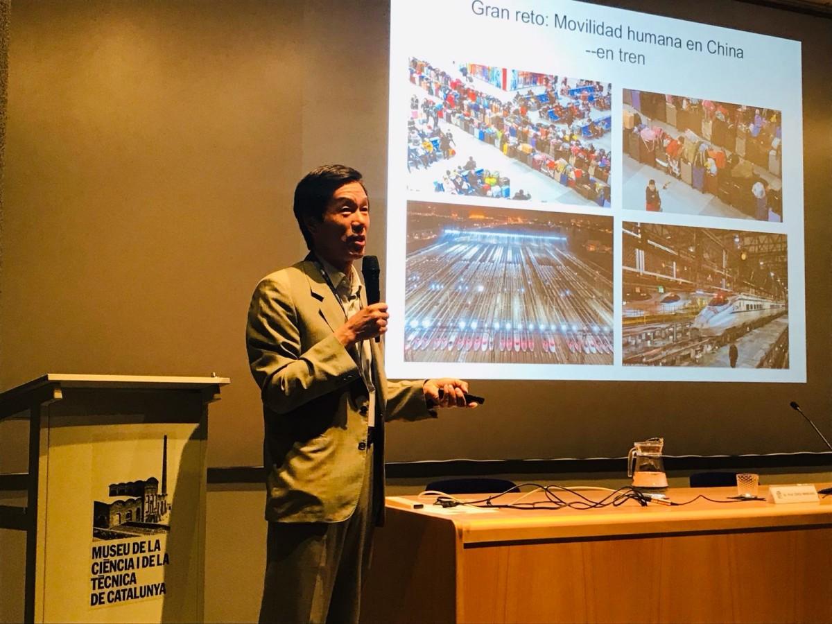 El director del Centre d'Estudis i Recerca sobre Àsia Oriental de la UAB, Minkang Zhou.