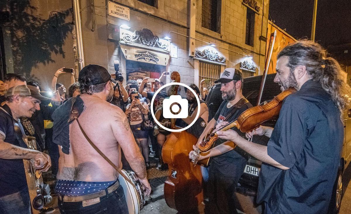 Concert de Th' Booty Hunters a la sala Rocksound de Barcelona