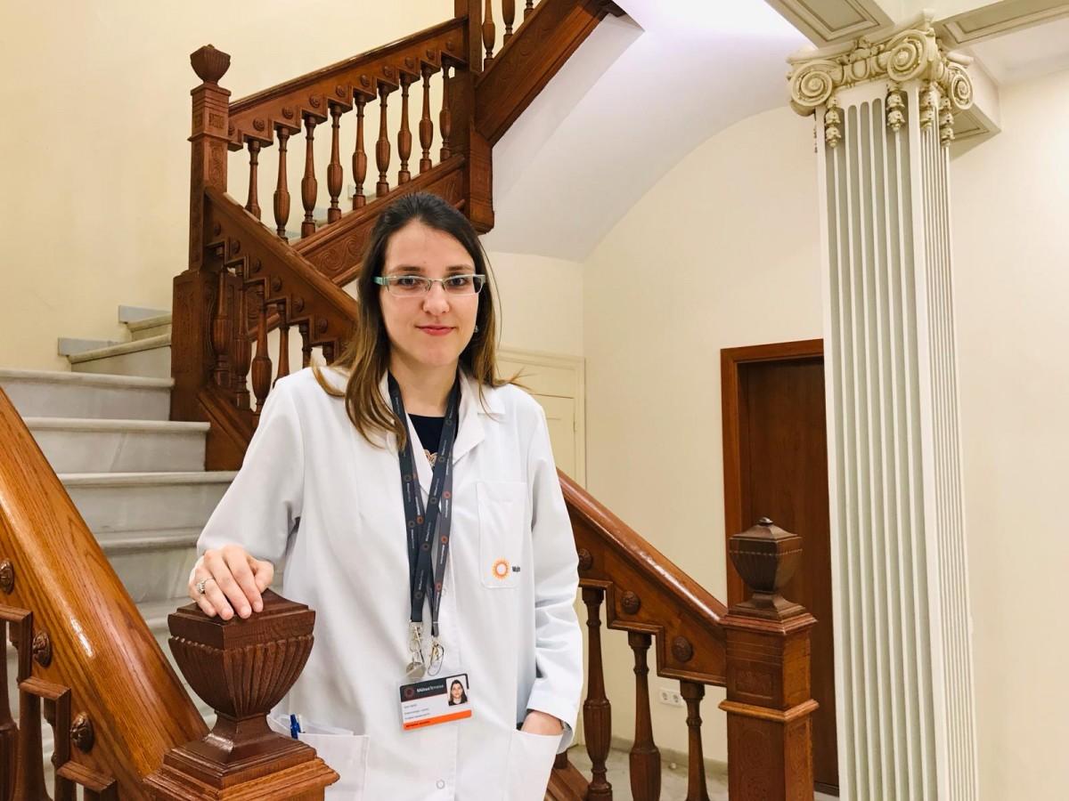 Aida Orois, metge adjunt del Servei d'Endocrinologia i Nutrició de MútuaTerrassa.
